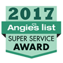 Stronghold Floors recieves 2017 Angie's List Super Service Award
