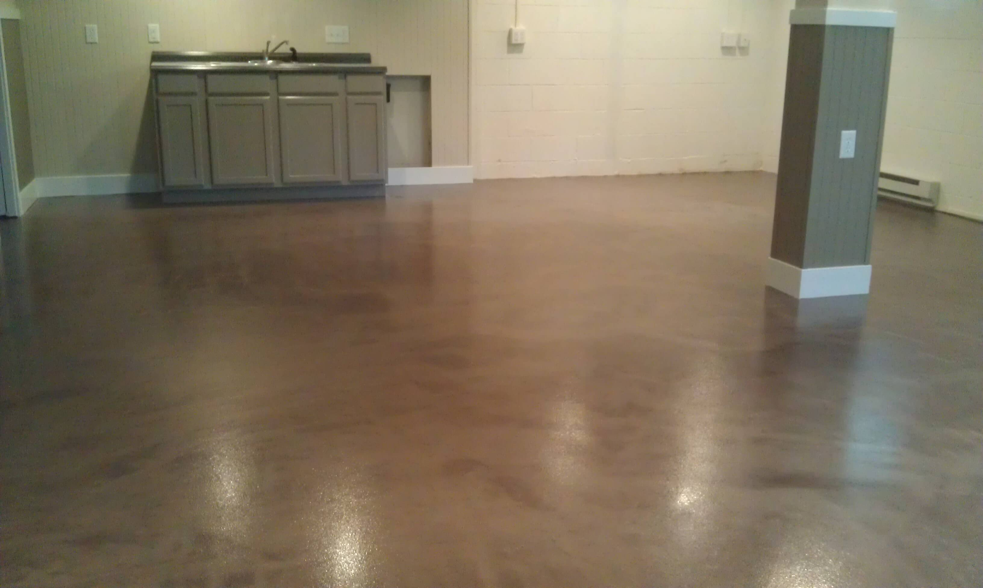 basement floor sealer paint epoxy coatings project description
