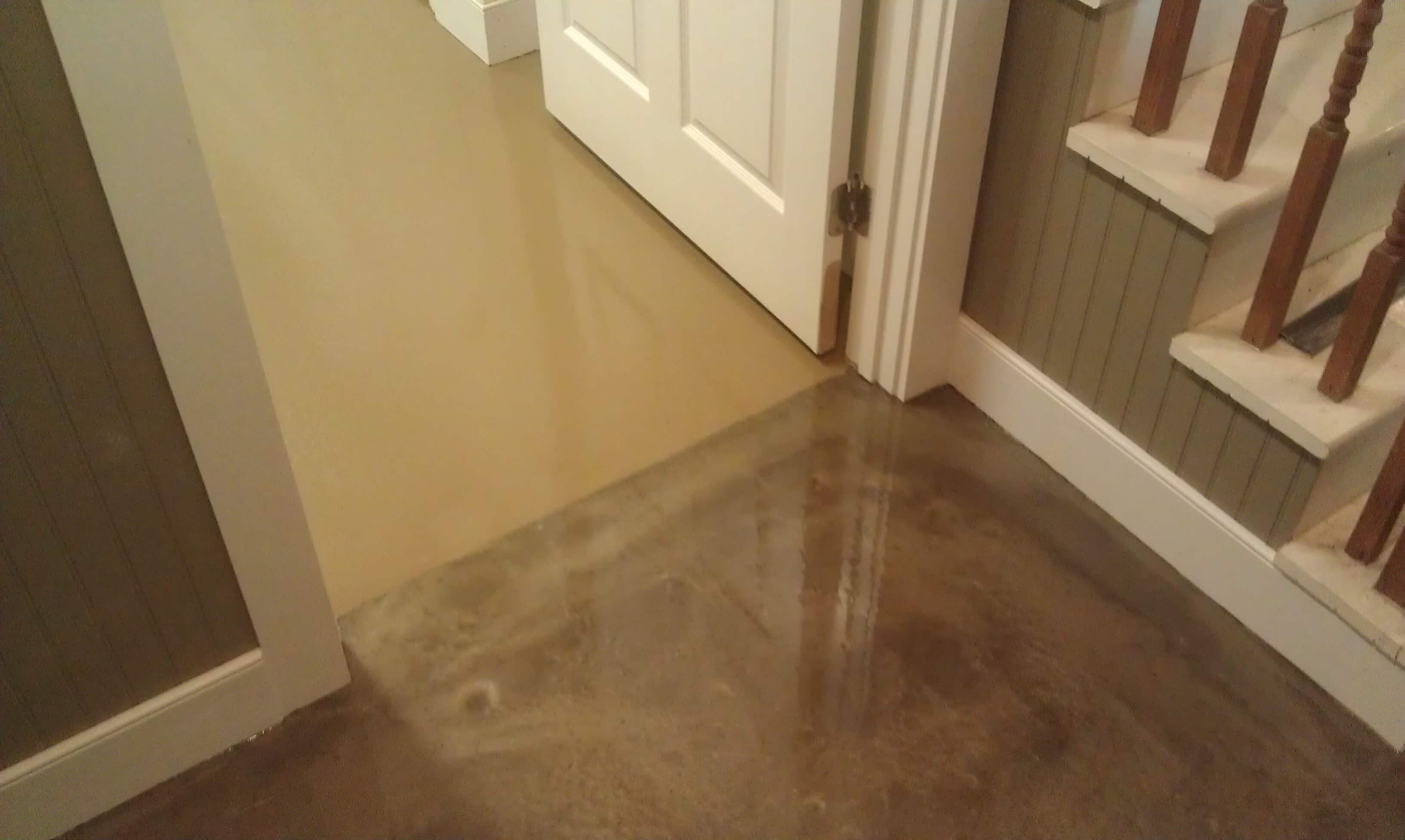 Metallic epoxy in lancaster pa for Basement flooring