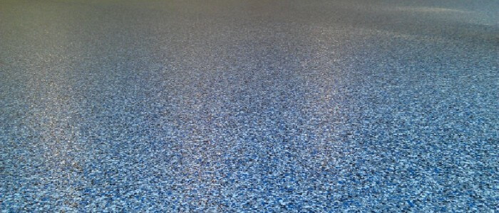 Epoxy garage floor coating in Perry County, Pennsylvania