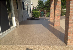 Patio floor coatings patio porch floors stronghold floors Exterior concrete floor coatings