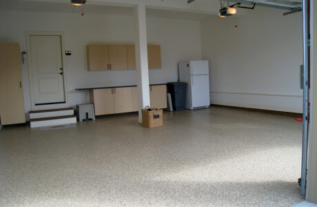 Epoxy garage floor coating Bel Air Maryland