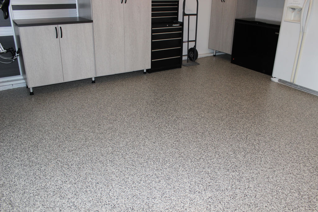 Garage floor coating near pottstown Two floor garage