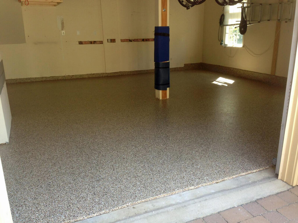 Epoxy garage floor in reston va for Floor description