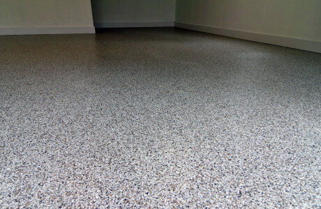Lancaster garage epoxy coating