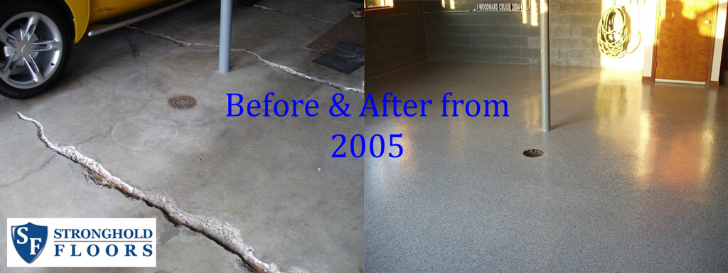 Garage Coatings Before After