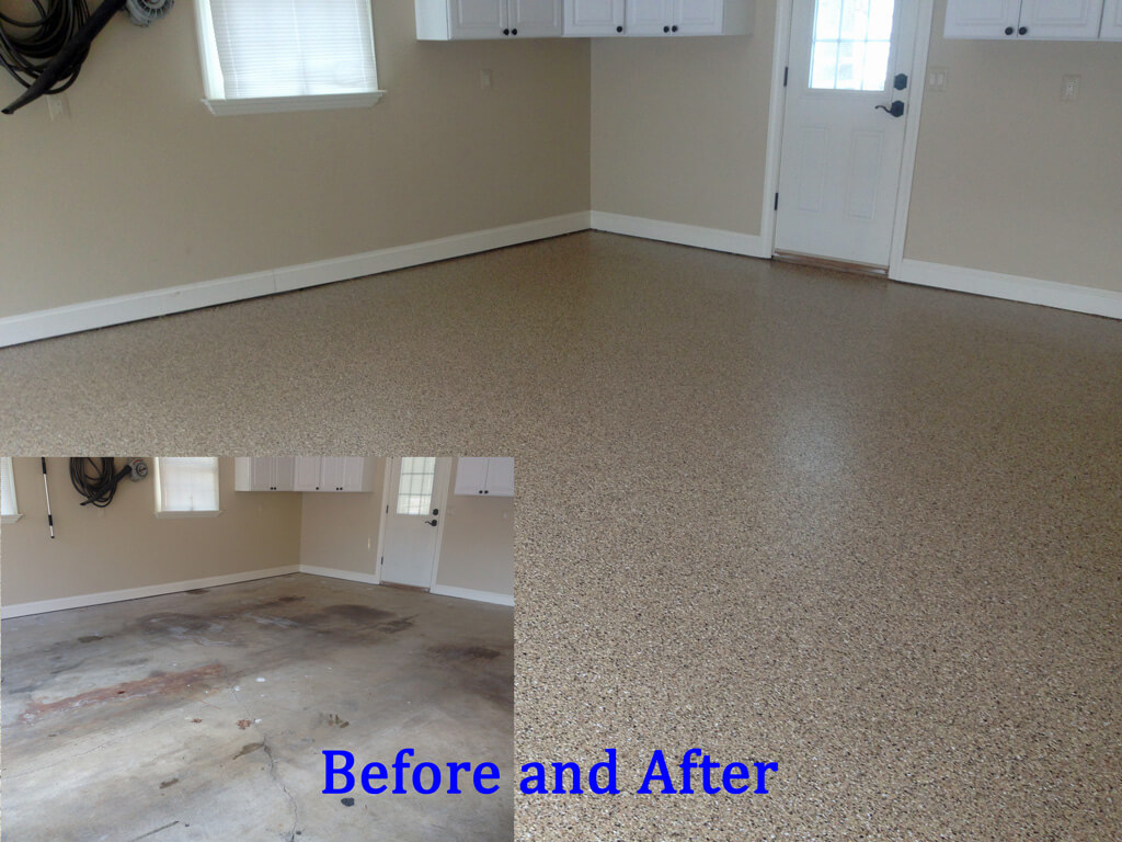 Top 28 Garage Floor Paint Before And After Epoxy