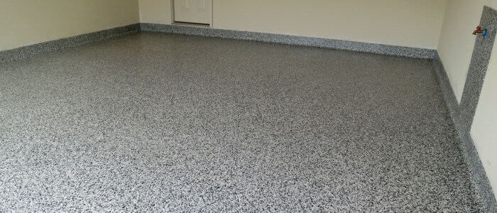 Epoxy coatings in Enola garage are better than traditional garage floor paints.