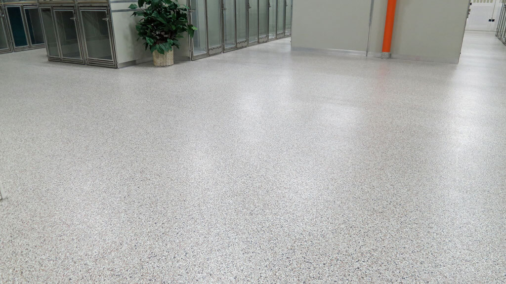 Epoxy Coatings In Baltimore S Stay Pet Resort