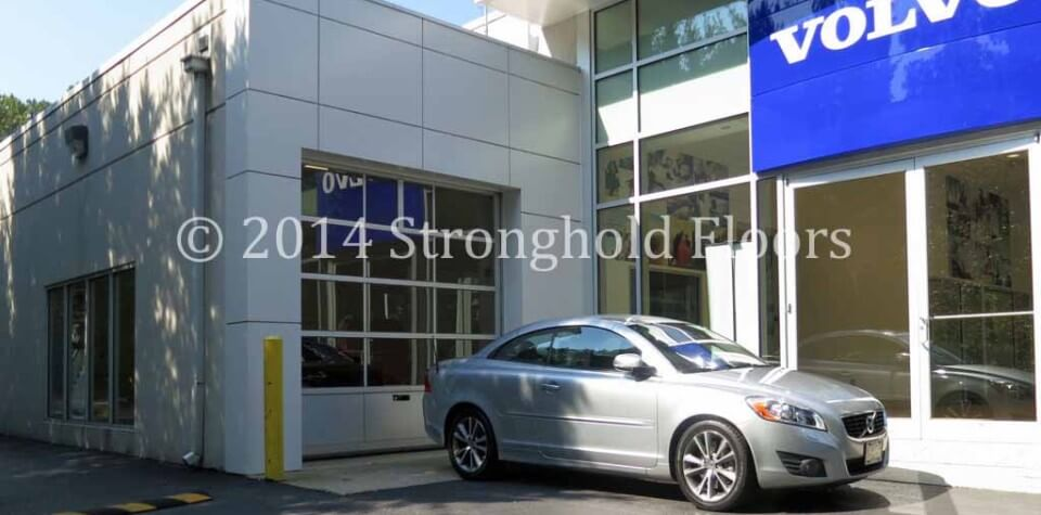 Annapolis Volvo Gets More Coatings