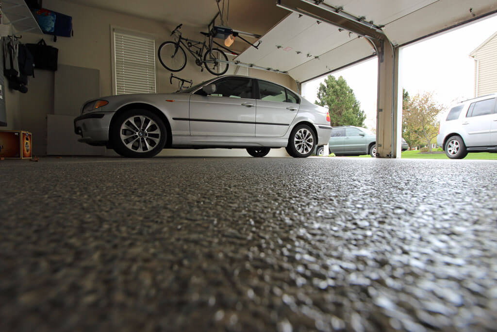 Lancaster Garage Has Epoxy Coatings From Stronghold Floors