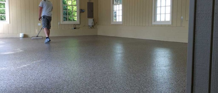 Our Baltimore crews install the coatings at this Potomac Garage