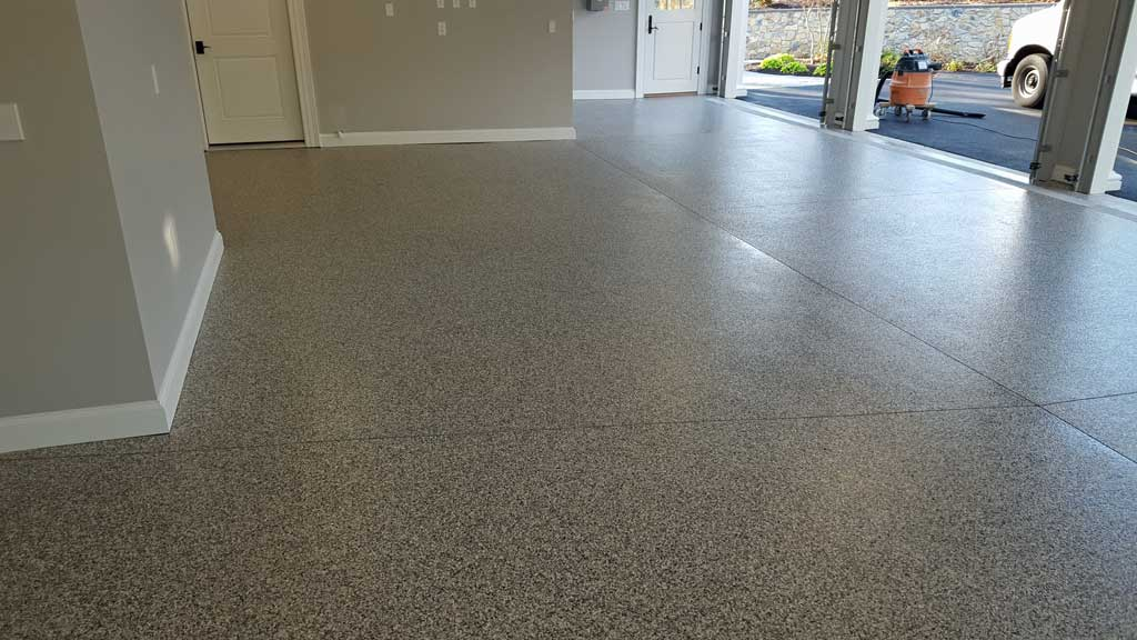 Lancaster pa epoxy garage floor coatings for Painting garage floor