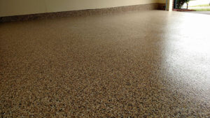 Our epoxy coatings, sometimes called garage floor paint, greatly enhanced this garage in Ellicott City.