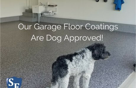 Breaking Company News: Our garage coatings are Dog Approved.